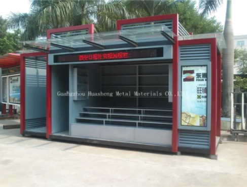 Kiosk Booth for Public Furniture
