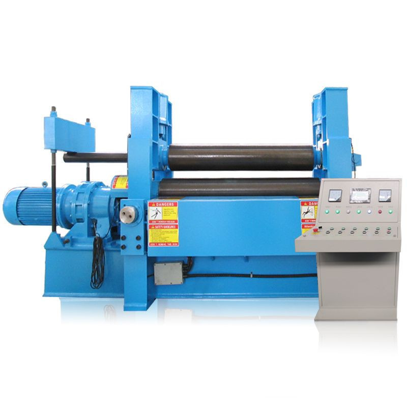 Import W11S series 3 Rollers Hydraulic Plate rolls Sheet metal  roll bending machine upper roller Hydraulic Rolling Machine from China