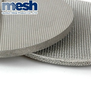 0.3Mm Sieve 5X5 Price 20 Micron Filter 1 Micron Stainless Steel Sintered Wire Mesh