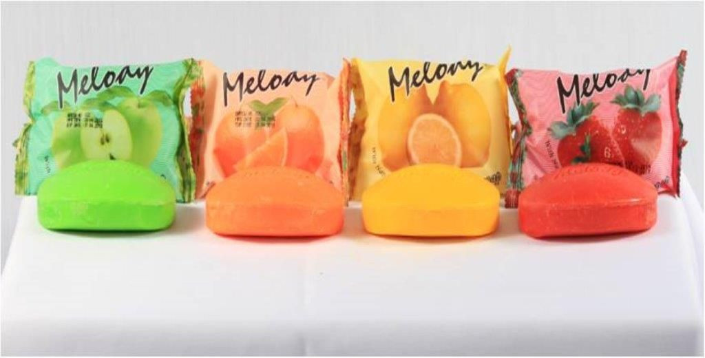MELODY FRUITY SOAP - 75 Gm ( PILLOW PACK )