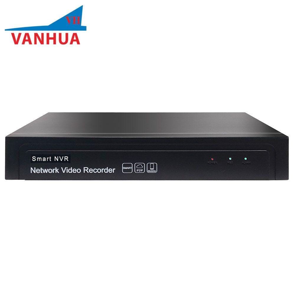 9CH 2MP HDMI VGA Network Video Recorder 8TB HDD 8 PoE ports NVR