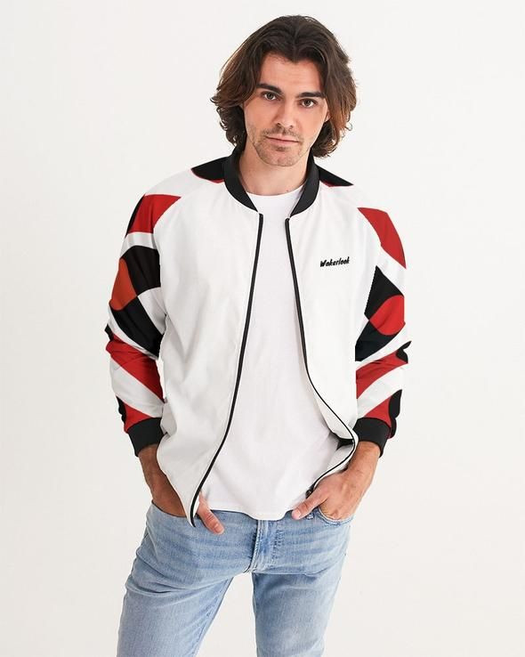 WAKERLOOK MEN'S BOMBER JACKET