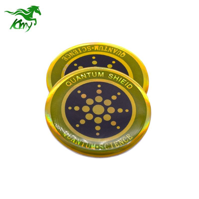 Hot selling Cell phone Anti-radiation Sticker/ Radiation protector Patch with negative ion