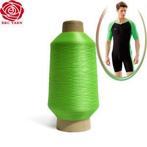 100% DTY knitting N6 polyamide yarn for elastic footballsocks woven medical supplies
