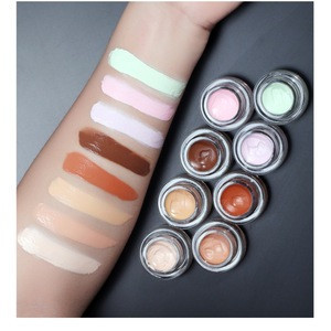 8 Colors Cruelty Free Full Coverage Makeup Concealer  Face Cream Concealer Private Label