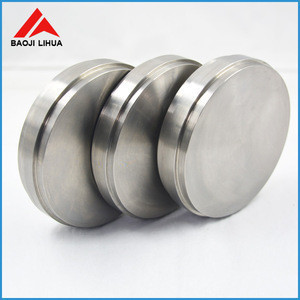 ASTM B381 titanium round target Ti disc for industrial using with competitive