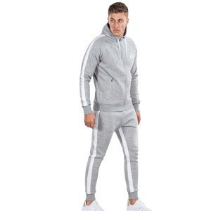 Best quality  Mens Tracksuit Custom Training Jogging Wear Blank Tracksuits