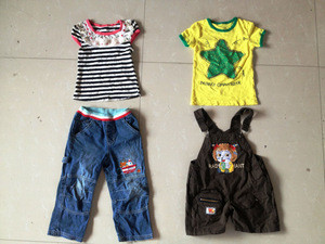 Children used clothes