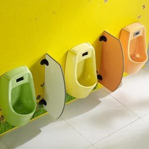 Children's Sensor Urinal Kindergarten Color Ceramic Urinal Household WC Wall hung Urinal
