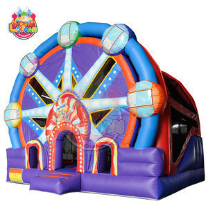 China manufacturer kid amusement park bounce house jumping bouncy inflatable bouncer