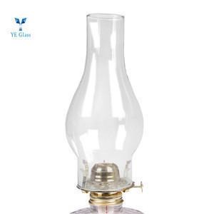 Clear Heat Resistant Glass Oil Light Cover Glass Lamp Shade for Kerosene Light