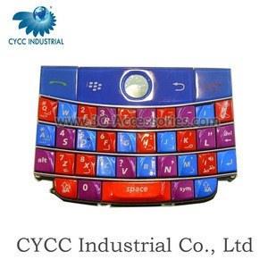 Colourful China Mobile Phone Keypad for BB 8900