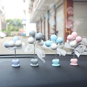 Creative Crafts Decorative Ornaments Gifts Luck Confession Balloon Ornaments Accessories Car Interior Decoration