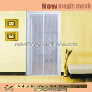 Door mesh magnetic mosquito net screen door