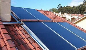 Easy installation solar flat panel collector for household and commercial project