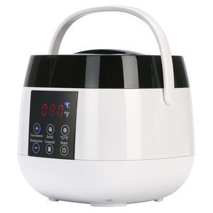 Hair remover electric wax warmer with scented fragrance wax bean for women leg and body