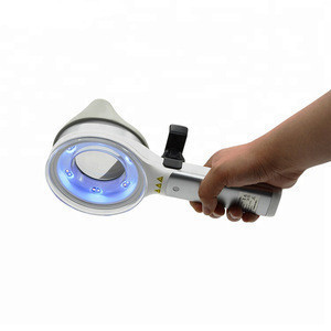 Hand-held Medical Magnifier Skin Analysis Wood's Lamp for Detecting bacterial or fungal skin infections