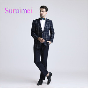 High Quality Hand Made Custom Made Excellent Slim Fit Suits For Sale Two Buttons Best Man Suit