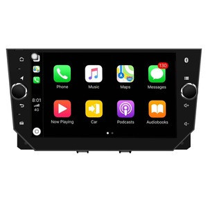 Hot selling Android8 Auto Stereo Car DVD GPS For IBIZA 2018 full touch with HD Screen/GPS/Mirror Link/support DVR/TPMS/carplay