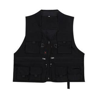 Hot selling Outdoor multi-pocket breathable fishing suit Korean multi-functional leisure travel wedding director suit