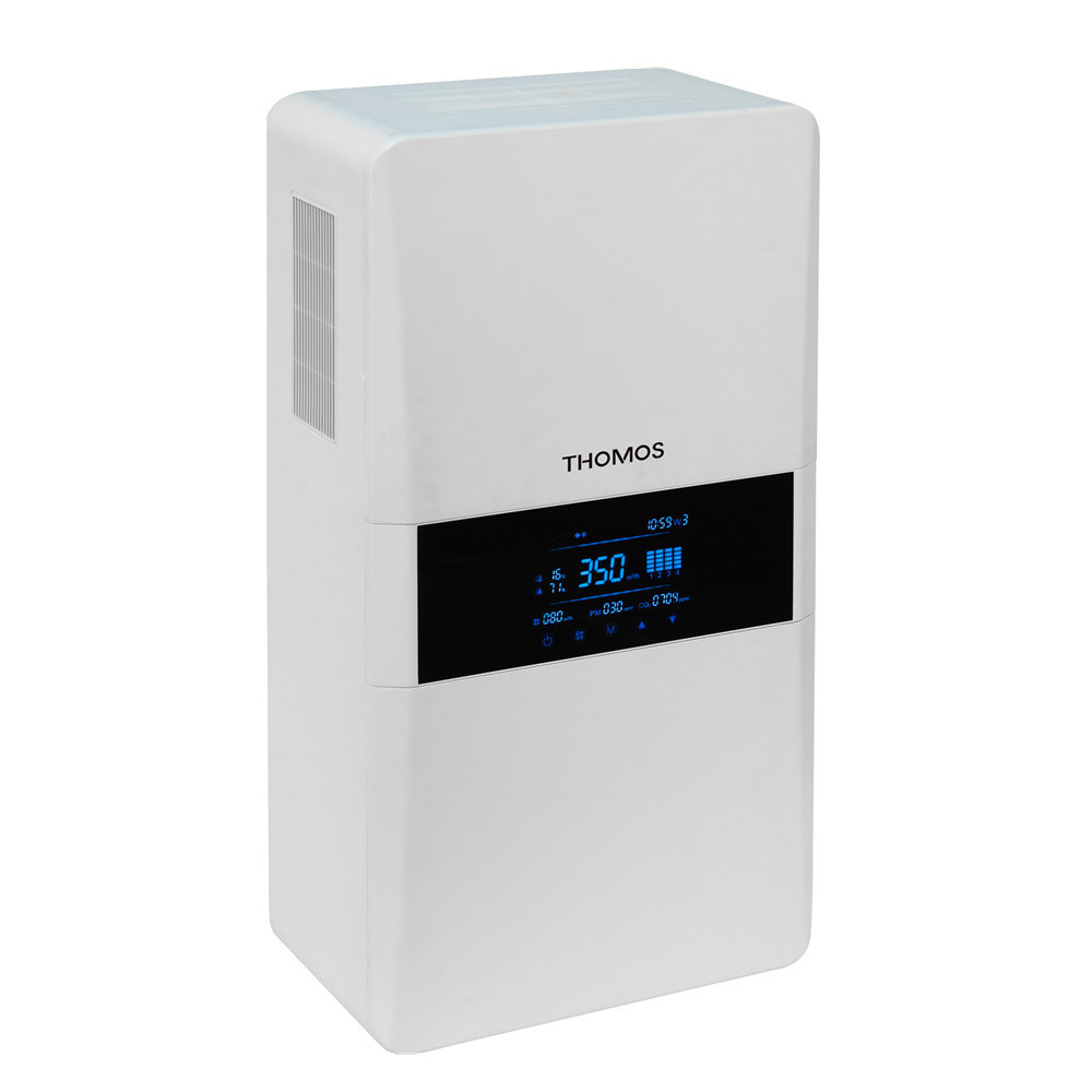 Household energy recovery ventilation system air handling unit wall mounted portable air recuperator 2E-350