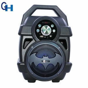 HY-01 big bass bluetooth speaker batman wireless subwoofer speakers