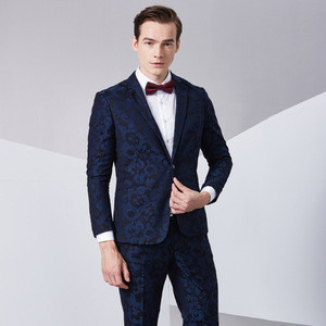 Jackets+Pants Man Suit Slim Wedding Groom Suits with Pants Tuxedo For Man Design Pictures New Style