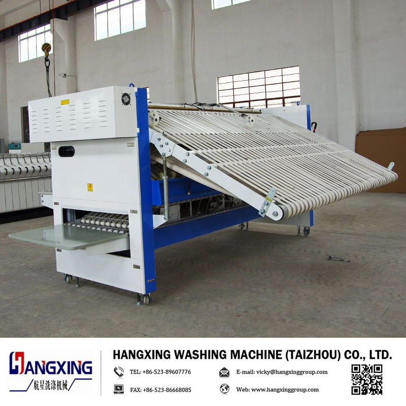 Low Price Washing Equipment Commercial  sheets/shirt Ironing folding Machine ,CE