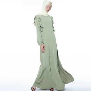 LYX103NEW delicate hijab dress stringy selvedge Islamic Clothing Fashion  Kimono Arabic Style Dubai Muslim Abaya
