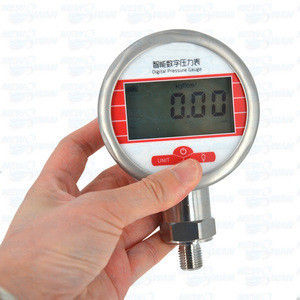 MIK-Y190 0.1.6 mpa High Precision Smart Digital Battery Operated Pressure Gauge Water Vacuum And Oil