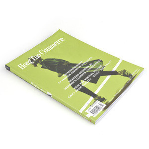 New customized wholesale perfect binding fashion printing magazine
