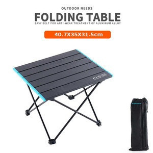 Outdoor Folding Table Simple Folding Mini Desk Portable Camping Fishing Train Table