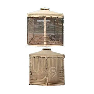 Outdoor Furniture General Use outdoor gazebo with valance