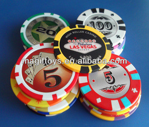Printed Clay Poker Chip/Professional Casino Chip