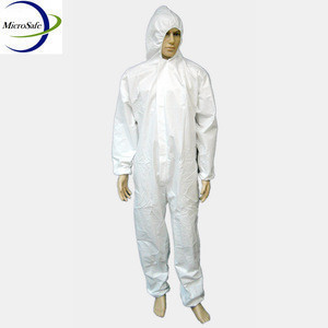 Protective Workwear Disposable Waterproof Coverall
