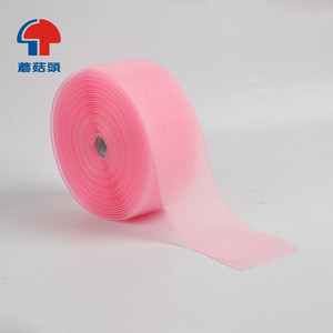 Self-adhering hair roller  Magic tape Beauty hook hair roller consumer packing hook and loop