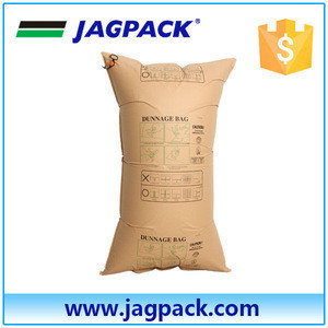 To fill void kraft paper air bag nice and cheap air dunnage bag reusable paper air bag