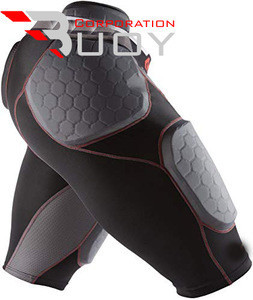 Unique Design Custom Made American Football Girdles Short Bull Rush Design 5-pad and 7-pad