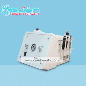 Water Dermabrasion+ oxygen jet peel +dimond dermabasion 3 in1 beauty machine for facial