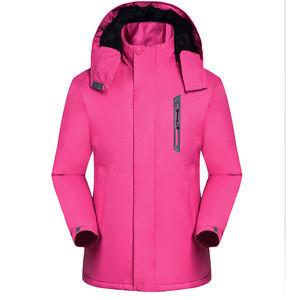 Wholesale Snow Wear Warm Zippers Women Ski Jacket