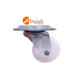Wholesale Universal furniture High Quality white pp Plastic Swivel caster wheels