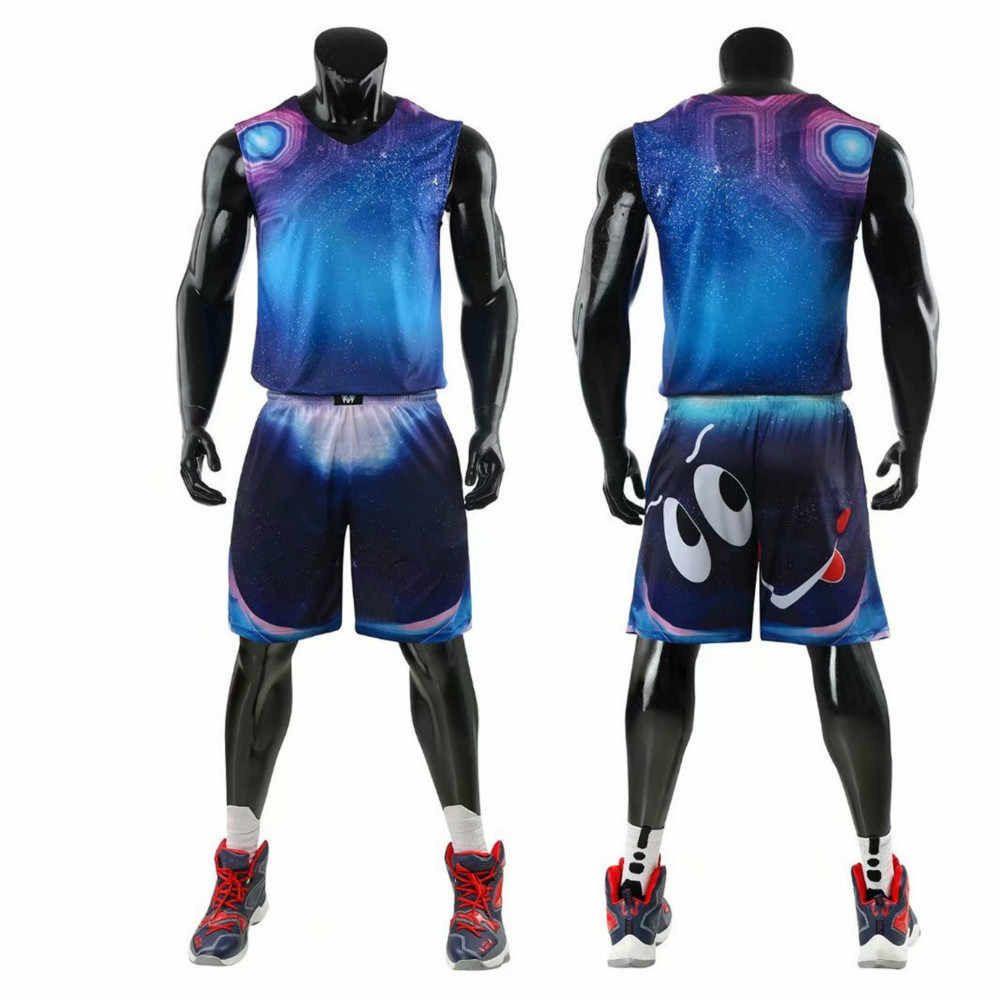 Basketball uniform set