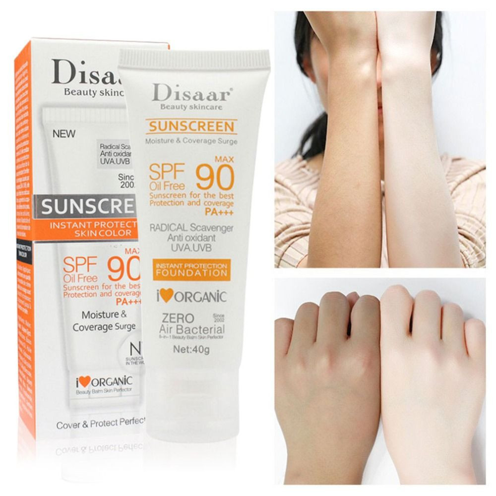 Facial Body Sunscreen Whitening Sun Cream Sunblock Skin Protective Cream Anti-Aging Oil-control Moisturizing SPF 90 Face