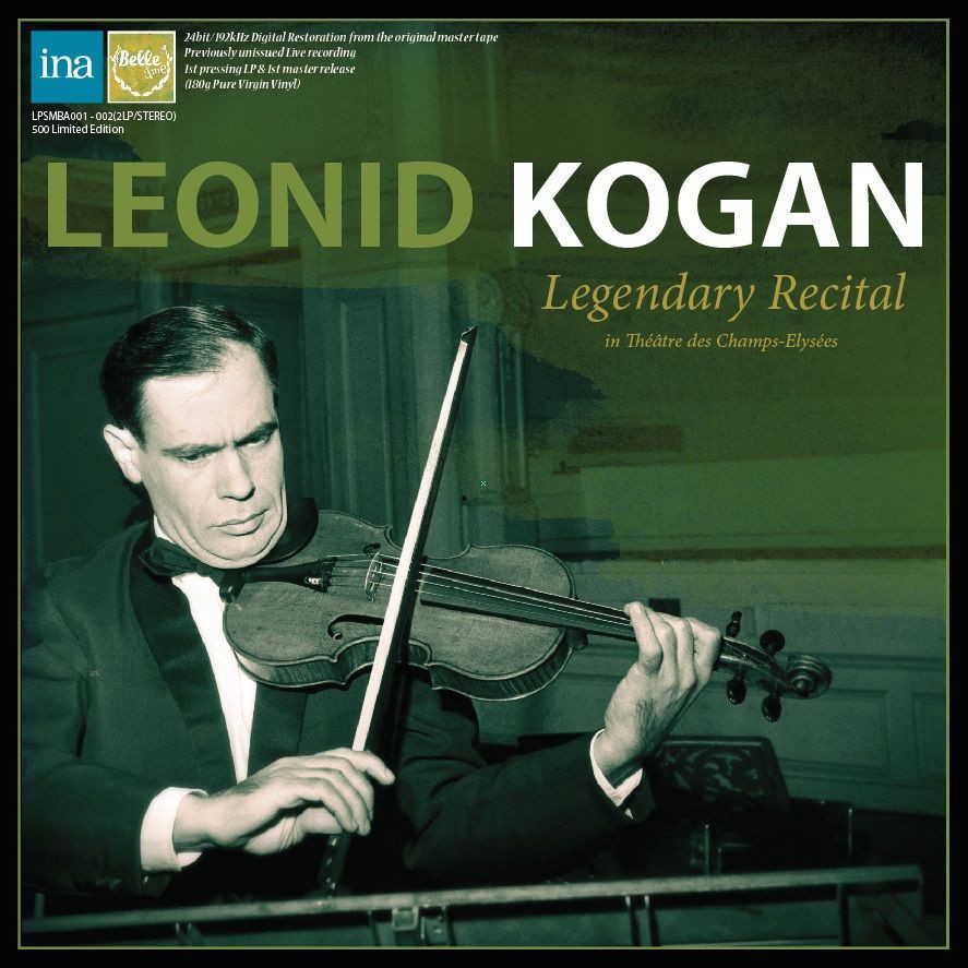 Leonid Kogan last recital in Paris 1982