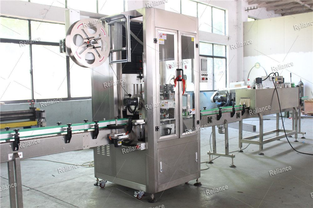 Glass dropper bottle band RSLB shrink sleeve labeling machine RELIANE