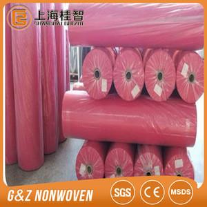 100% pp / pet spunbond non woven customized bag raw material supplier