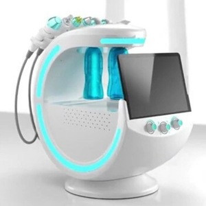 8 in 1 Skin rejuvenation skincare device h2o2 water oxygen jet peel facial machines with skin analyzer