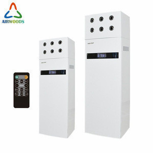 Computer room Floor klima control heat recovery air conditioner