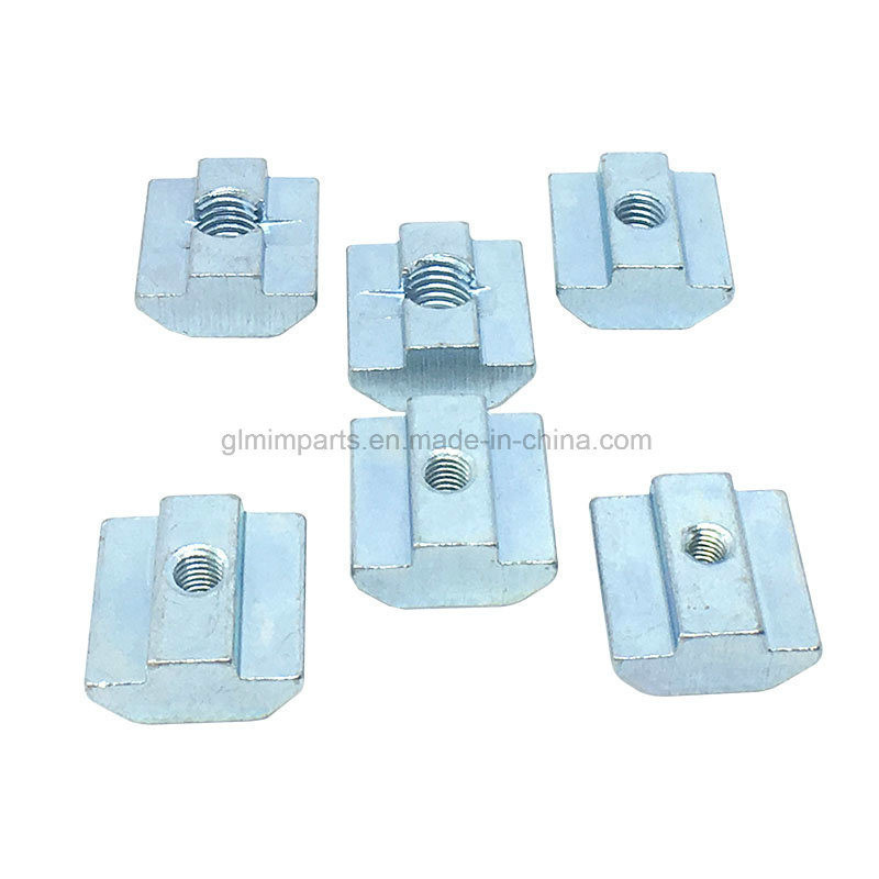 Custom Stainless Steel Profile Connector / Bosch Extrusion Connectors / Aluminum Frame T Style Connector / Bolt Connector