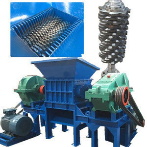 Double shaft tire shredder,shredder waste machine,scrap metal shredder